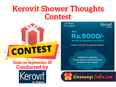 Kerovit Shower Thoughts Contest