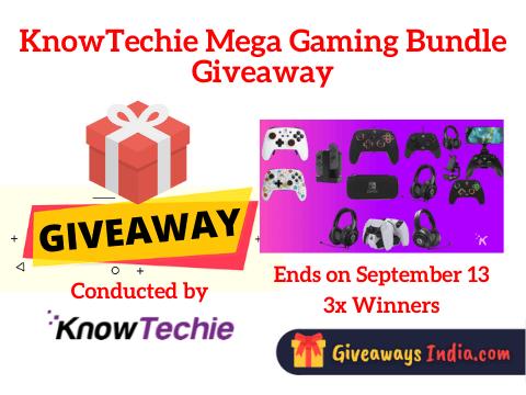 KnowTechie Mega Gaming Bundle Giveaway