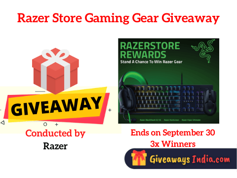 Razer Store Gaming Gear Giveaway