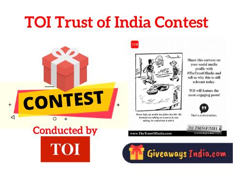 TOI Trust of India Contest