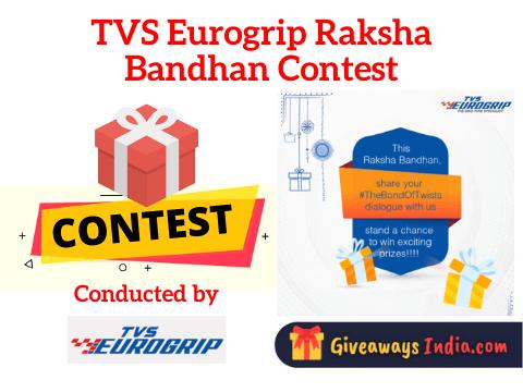 TVS Eurogrip Raksha Bandhan Contest