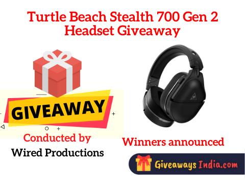 Turtle Beach Stealth 700 Gen 2 Headset Giveaway