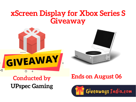 xScreen Display for Xbox Series S Giveaway