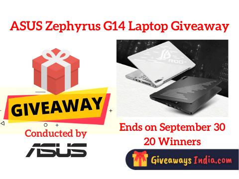 ASUS Zephyrus G14 Laptop Giveaway