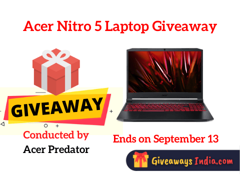 Acer Nitro 5 Laptop Giveaway