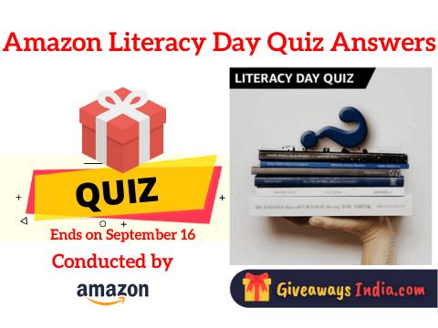 Amazon Literacy Day Quiz Answers