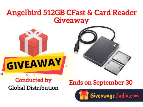 Angelbird 512GB CFast & Card Reader Giveaway