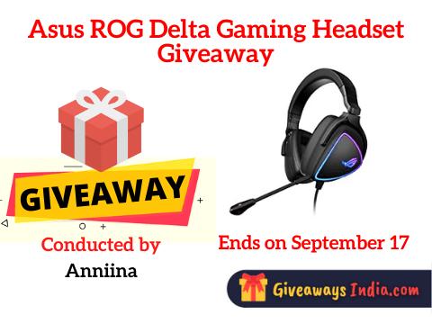 Asus ROG Delta Gaming Headset Giveaway