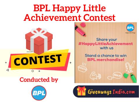 BPL Happy Little Achievement Contest
