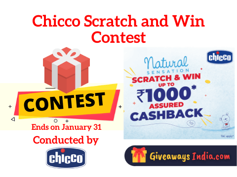 Chicco Scratch and Win Contest