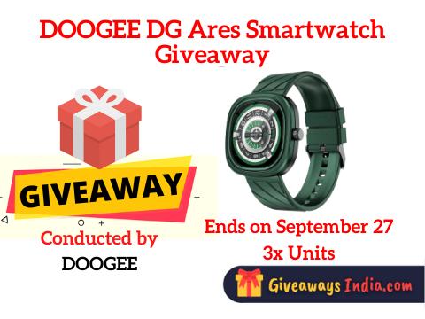 DOOGEE DG Ares Smartwatch Giveaway