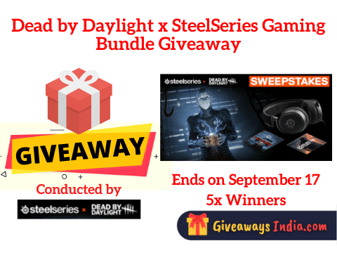 Dead by Daylight x SteelSeries Gaming Bundle Giveaway
