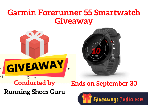 Garmin Forerunner 55 Smartwatch Giveaway
