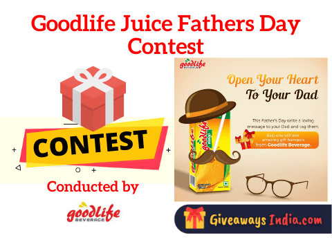 Goodlife Juice Fathers Day Contest