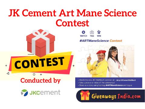 JK Cement Art Mane Science Contest
