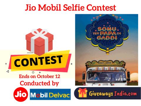 Jio Mobil Selfie Contest