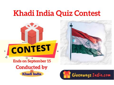 Khadi India Quiz Contest