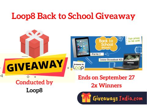 Loop8 Back to School Giveaway