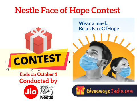 Nestle Face of Hope Contest