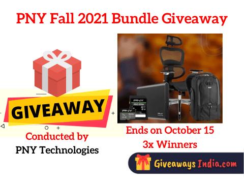 PNY Fall 2021 Bundle Giveaway