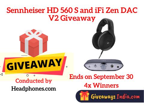 Sennheiser HD 560 S and iFi Zen DAC V2 Giveaway