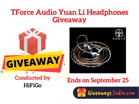 TForce Audio Yuan Li Headphones Giveaway