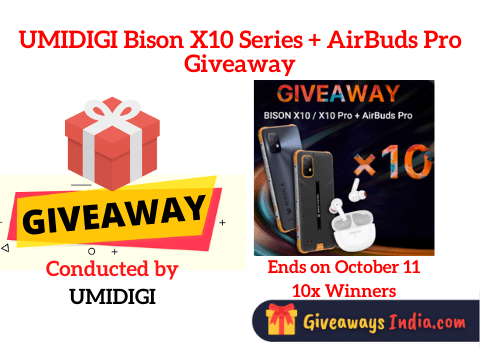 UMIDIGI Bison X10 Series + AirBuds Pro Giveaway