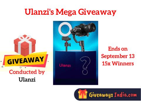 Ulanzi's Mega Giveaway