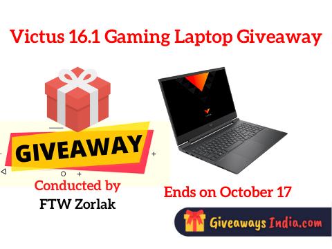 Victus 16.1 Gaming Laptop Giveaway