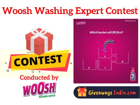 Woosh Washing Expert Contest