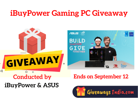 iBuyPower Gaming PC Giveaway